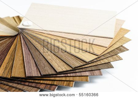 Thin Wooden Samples Sheaf
