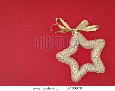Decorate Gold Star