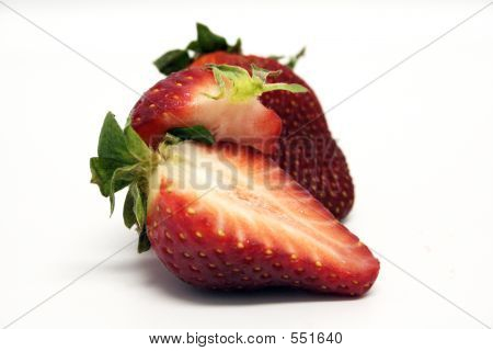 Fruit - Strawberry Cut