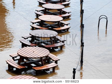 Flooded Tables In York
