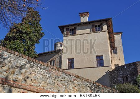 Castello Della Manta Castle