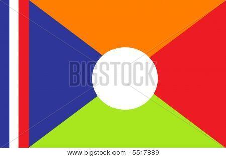 Reunion Flag - France