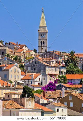Colorful Adriatic Town Of Losinj