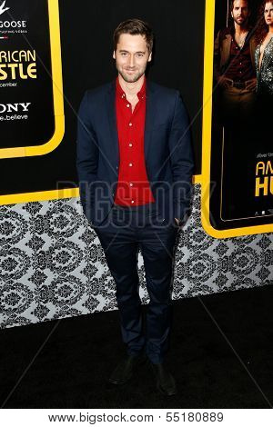 NEW YORK-DEC 8: Actor Ryan Eggold attends the