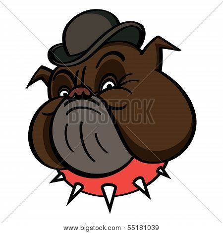 Dog In Bowler hat