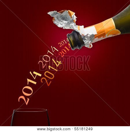 Champagne For New Year