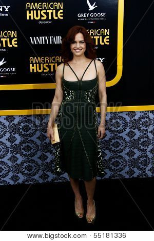NEW YORK-DEC 8: Actress Carla Gugino attends the