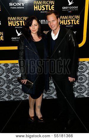 NEW YORK-DEC 8: Actor Patrick Wilson and wife Dagmara Dominczyk attend the