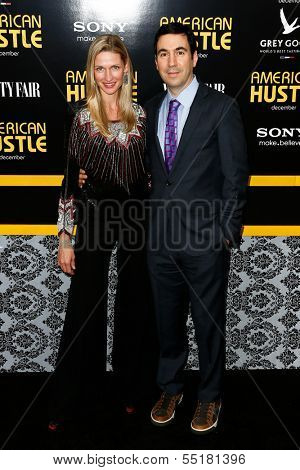 NEW YORK-DEC 8: Producer Jon Gordon and wife Catherine McCord attend the