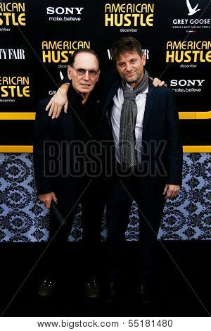NEW YORK-DEC 8:  Actors Paul Herman (L) and Shea Whigham attend the