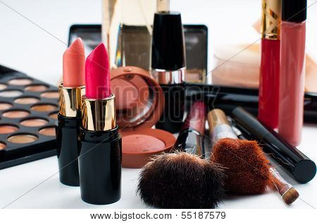 Makeup And Cosmetics Set