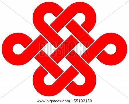 Beautiful Chinese knot