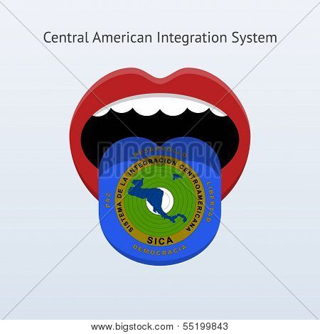 Central American Integration System flag.