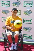 2012 London Paralympics wheelchair quad champion David Wagner attends Arthur Ashe Kids Day 2013