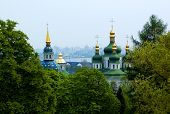 Christian Church In Kiev Summer poster