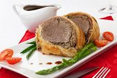 stock photo of beef wellington  - Beef Wellington  - JPG