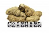 stock photo of paycheck  - Pay - JPG