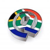 Постер, плакат: На национальном Южная Африка