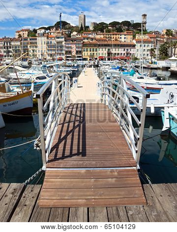 Cannes - View Of Le Suquet