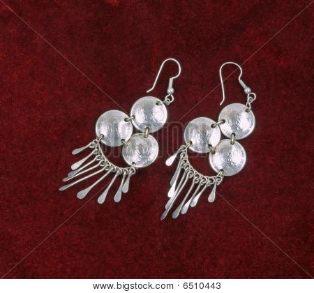 Medal Earrings