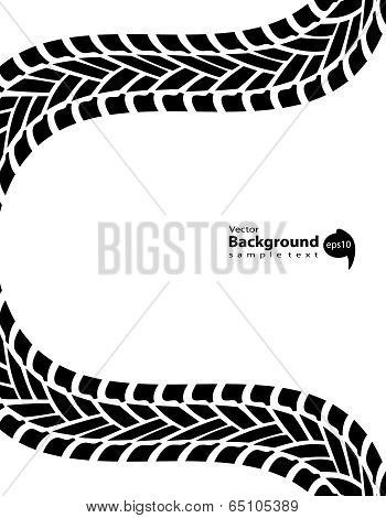 Black And White Transportation Background, Vector Illustration, Eps10