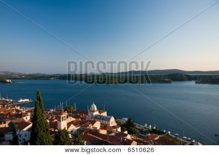 Sibenik And The Islands Behind