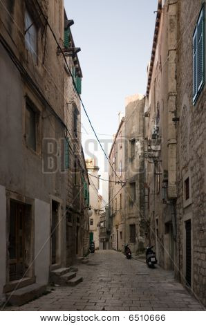 Small Street In Sibenik