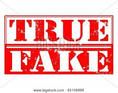True Fake Stamp