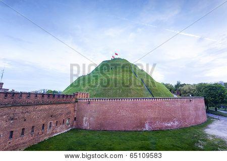 Kosciuszko Mound In Krakow, Poland