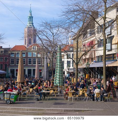 Market Square In The Hague