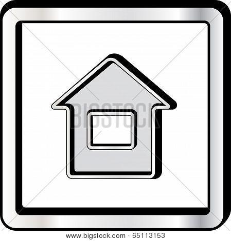 convex house icon