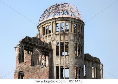 Hauptgebäude eine Bombe dome-hiroshima