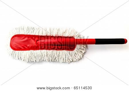 Cotton Duster For Cleaning A Car