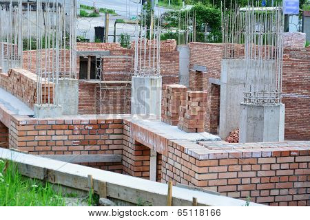 House Building - Construction Site