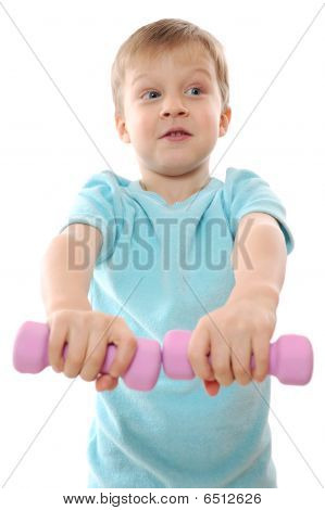 Exercising Child