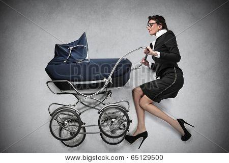 businesswoman mum