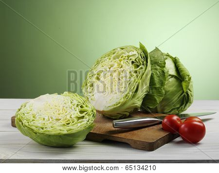 Cabbage And Tomato