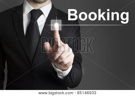touchscreen booking