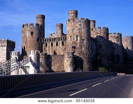 Medieval Castle, Conway.
