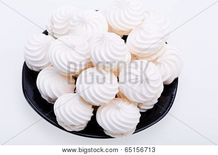 French vanilla meringue cookies