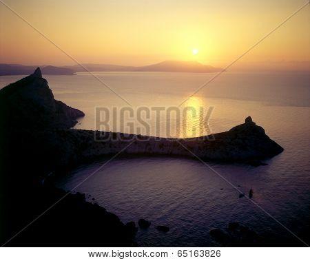 Sunrise Over The Sea - Crimea