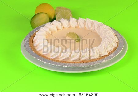 Key Lime Pie And Citrus Fruit