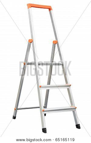 New Aluminum Stepladder