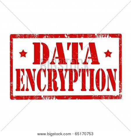 Data Encryption-stamp