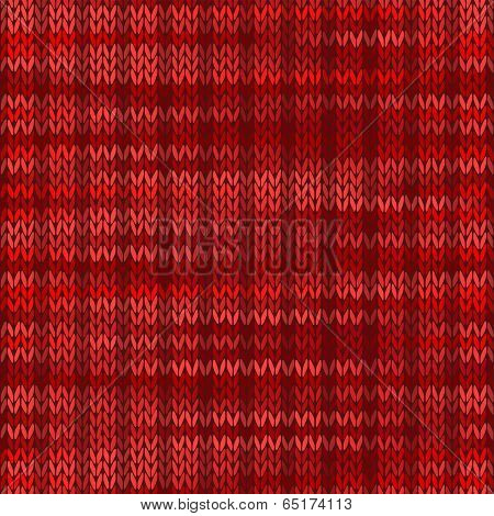 Style Seamless Knitted Melange Pattern