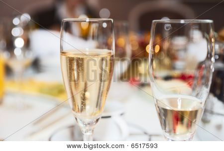 Two Champagne Flutes
