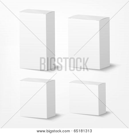 Packing Box On White Background