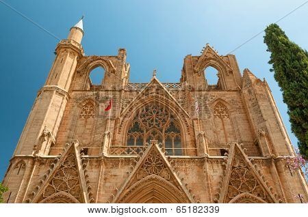 Lala Mustafa Pasha Mosque, Formerly St. Nicholas Cathedral), Famagusta, Cyprus