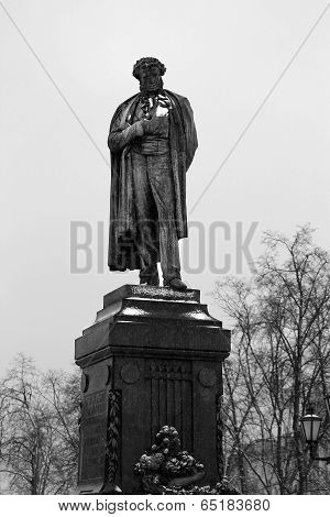 Pushkin monument