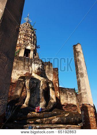 Chum temple Sukhothai Thailand